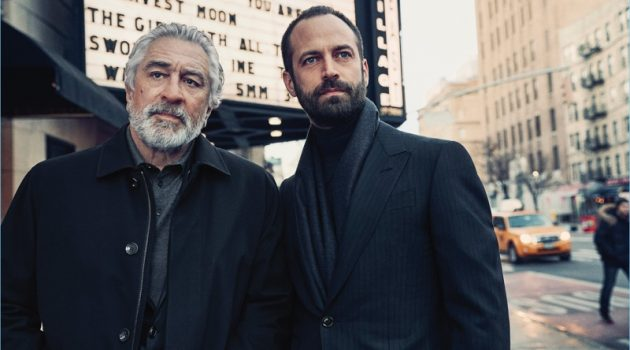 Robert De Niro and Benjamin Millepied star in Ermenegildo Zegna's fall-winter 2017 campaign.