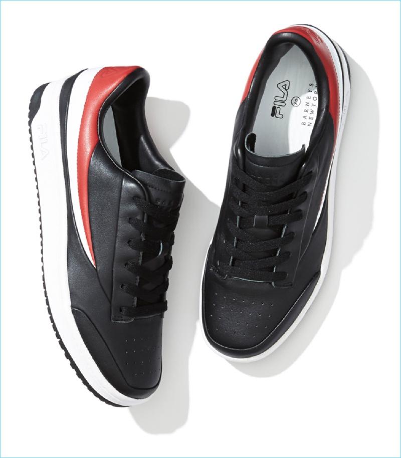 huge selection of 6eeca cc8e7 FILA BNY Sole Series  Original Tennis Leather Sneakers