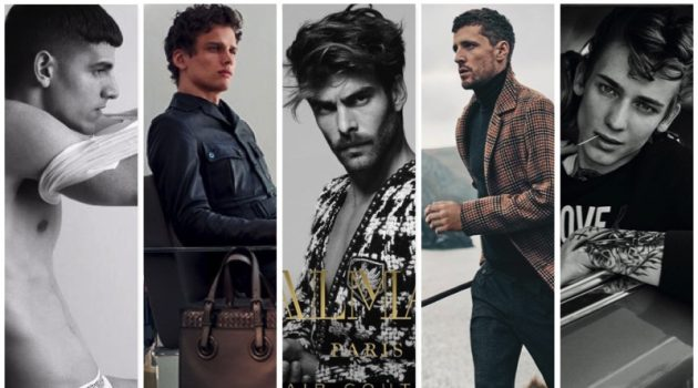 Fall/Winter 2017 Campaigns from Bikkembergs, Bottega Veneta, Balmain Paris Hair Couture, DAKS, and Love Moschino