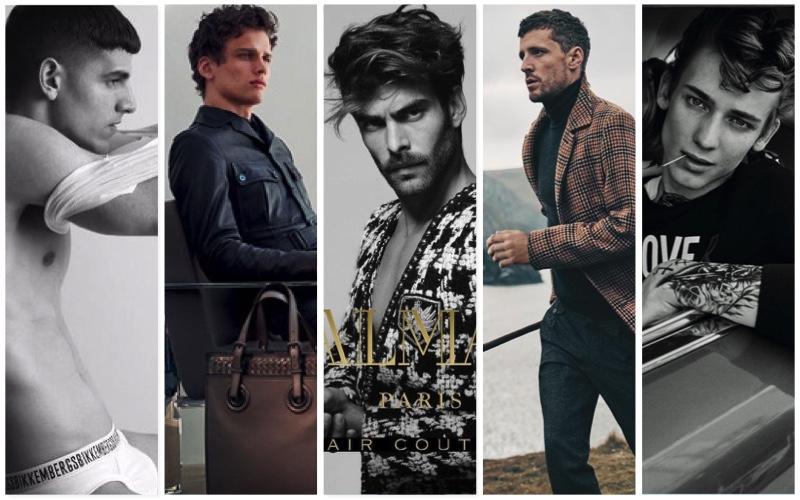 Fall/Winter 2017 Campaigns from Bikkembergs, Bottega Veneta, Balmain Paris Hair Couture, DAKS, and Love Moschino
