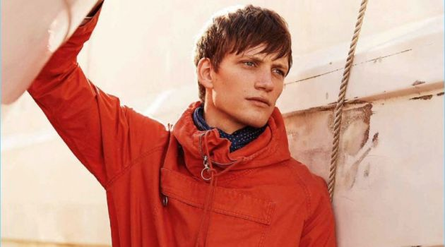 Florian Van Bael Embraces Nautical Fashions for Men's Style
