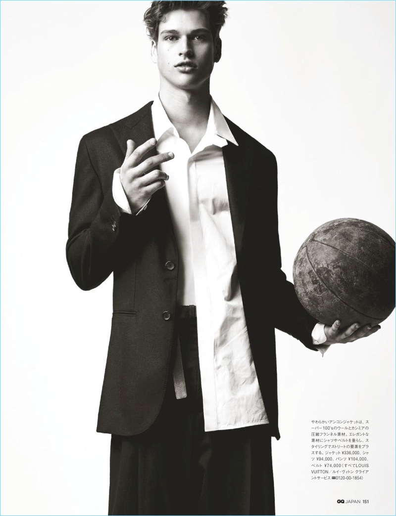 Athleisure - The New Cool: David Trulik, Etienne Robert & Damian for GQ Japan