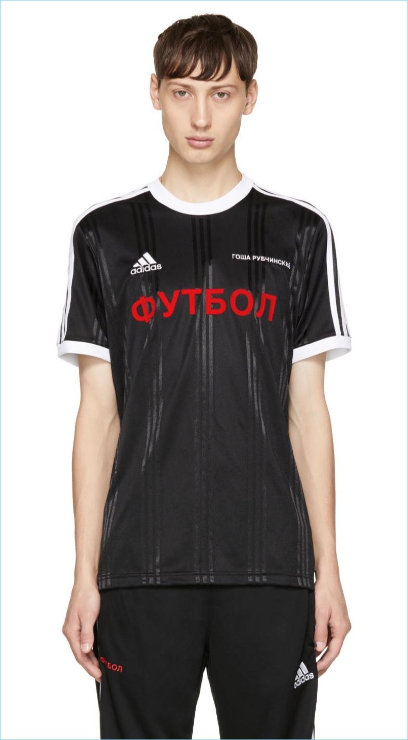 Gosha Rubchinskiy Black adidas Originals Edition T-Shirt