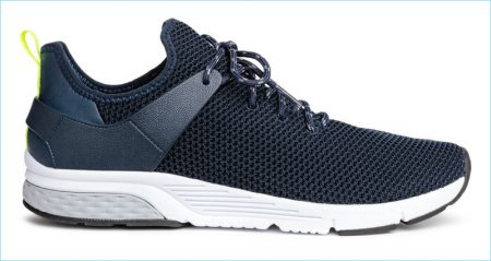 H&M Men's Form Stitched Sneakers