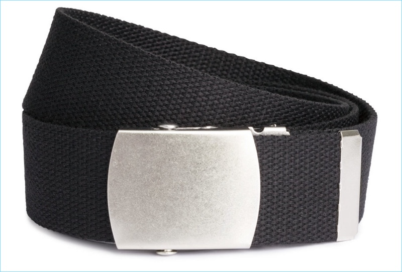 H&M Men's Fabric Web Belt