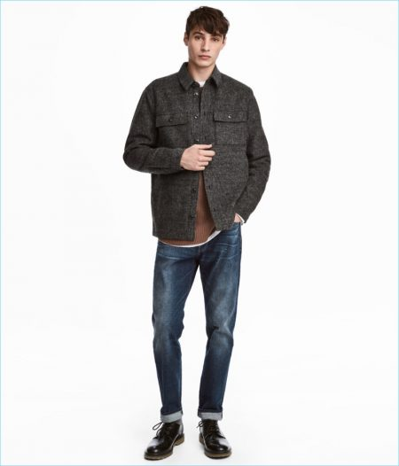 H&M Men's Straight Regular Jeans