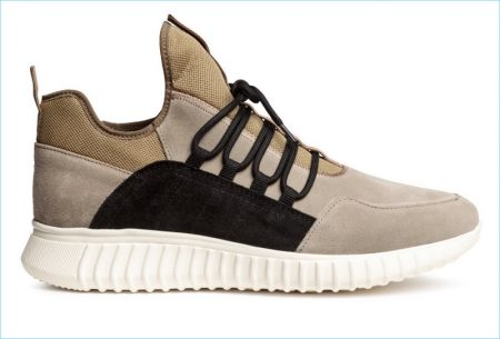 H&M Men's Suede Sneakers