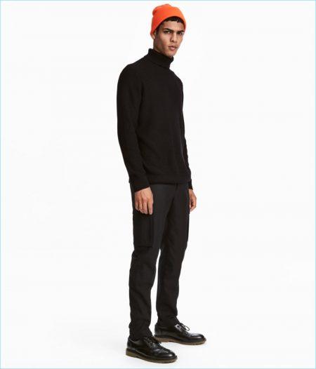 H&M Men's Suit Pants Slim-Fit