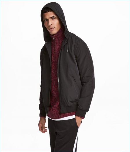 H&M Men's Windproof Jacket