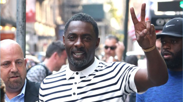 Idris Elba Makes a Case for Burberry's Polo Shirts