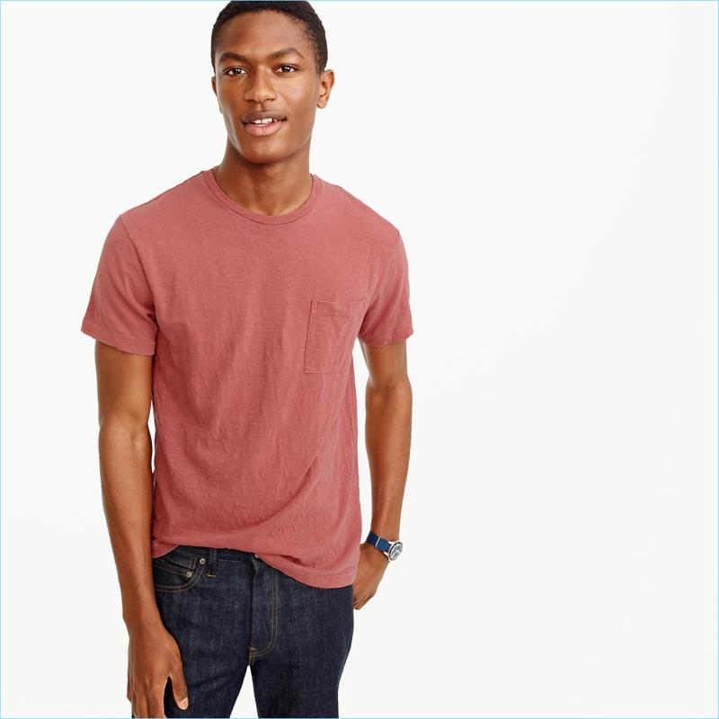 J.Crew Men's Garment Dyed T-Shirt