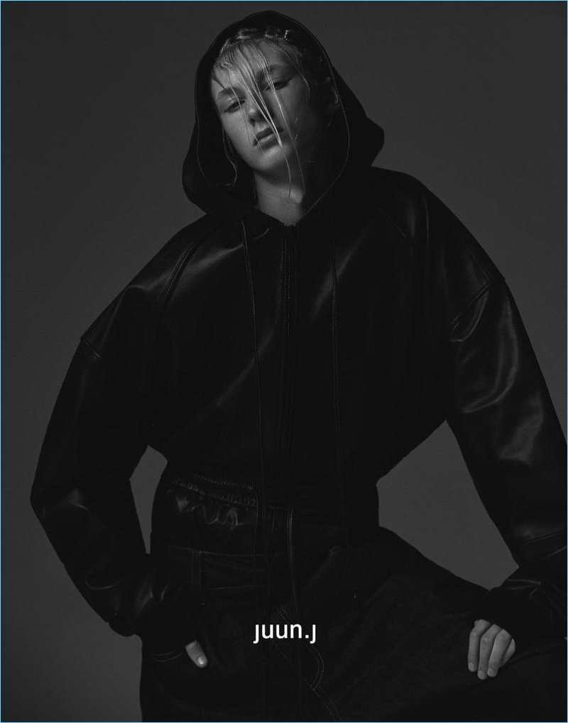 JUUN.J enlists Ville Sydfors as the star of its fall-winter 2017 campaign.