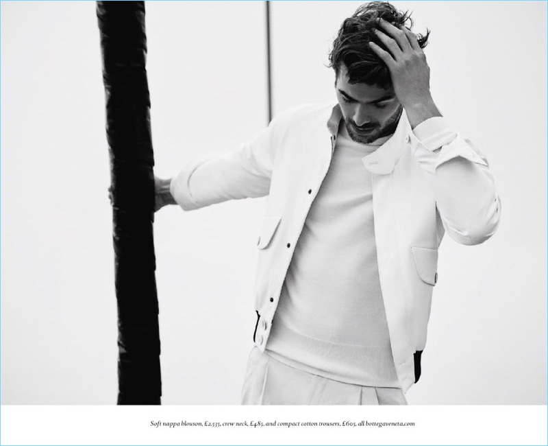 Jacey Elthalion Models Fall Yachting Style for Boat International