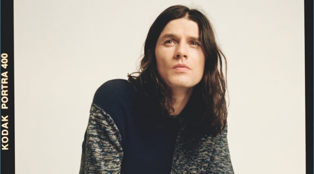 Starring in a photo shoot, James Bay wears pieces from his Topman collaboration.