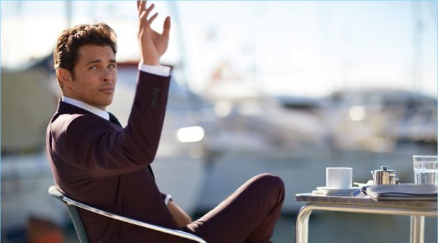 James Marsden stars in a new campaign for BOSS.