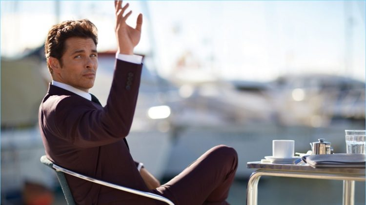 Own Your Journey: James Marsden Stars in BOSS Fall '17 Campaign