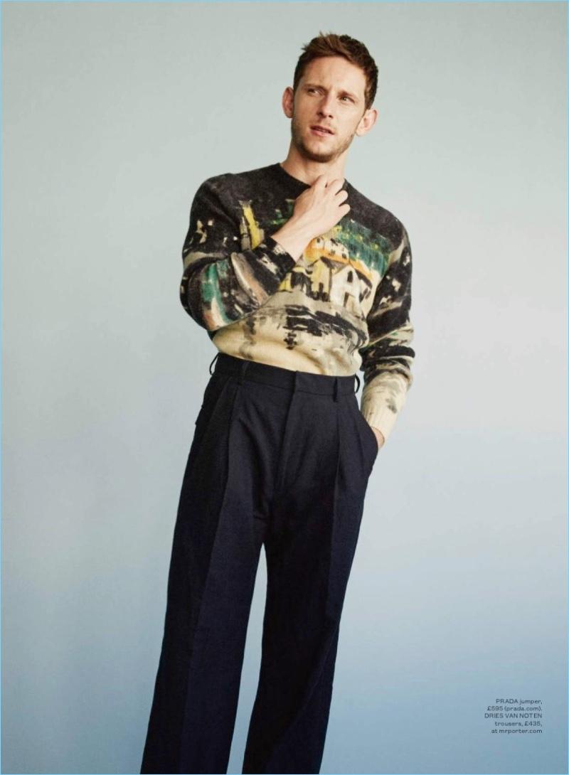 Bell Du Jour: Jamie Bell Stars in ES Magazine Cover Shoot