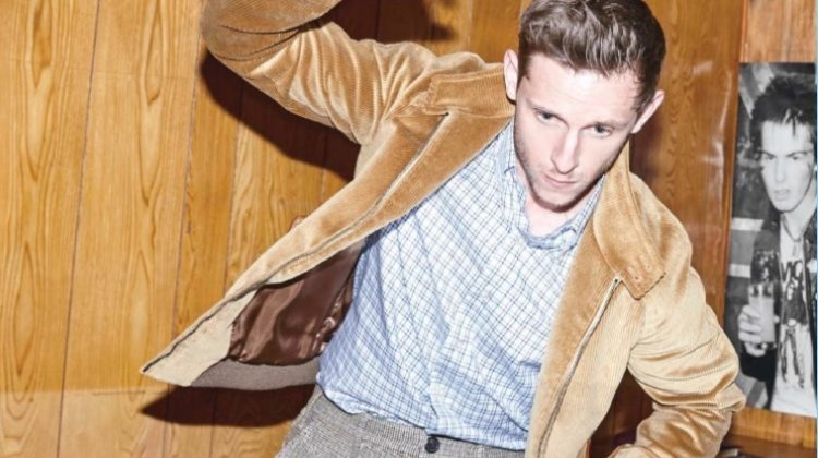 Safe for Work: Jamie Bell Sports Office-Ready Styles for Men's Health UK
