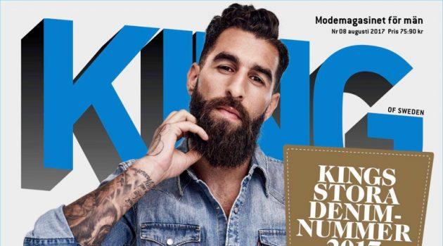 Jimmy Durmaz Covers King Magazine, Makes Case for Denim Essentials