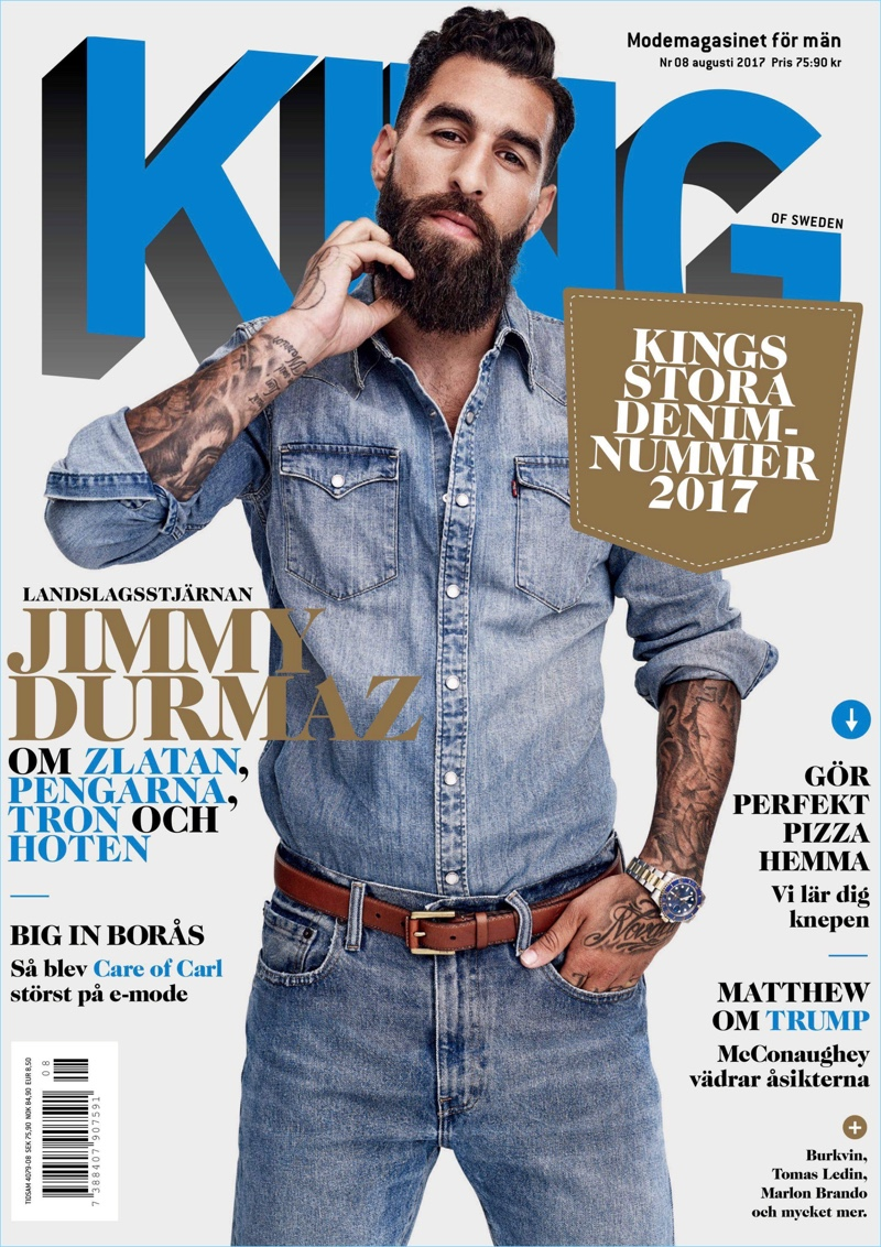 World Cup (2018) - Group F (Germany, South Korea, Mexico, Sweden) - Page 10 Jimmy-Durmaz-2017-King-Magazine-Cover-copy