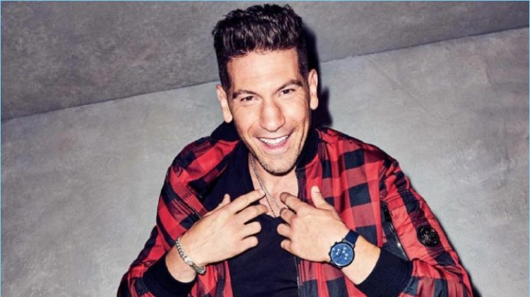 The Return of Macho Style: Jon Bernthal Sports Fall Looks for GQ Shoot