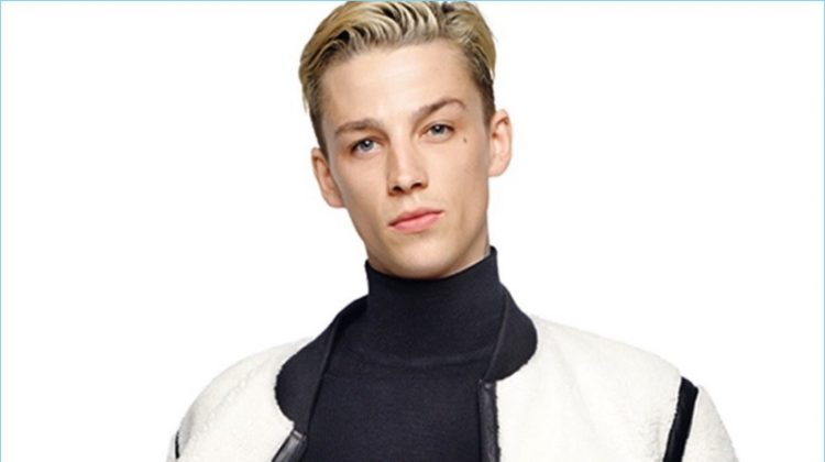 Ash Stymest Goes Blond for Karl Lagerfeld Fall '17 Campaign