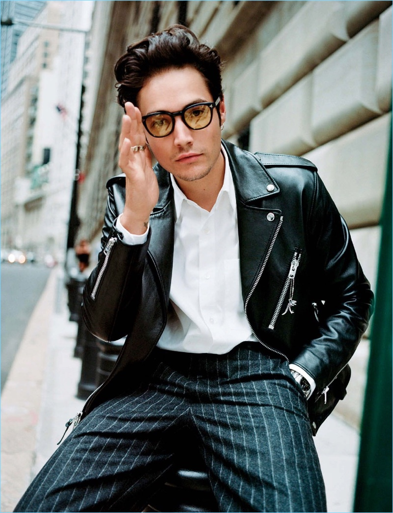 Una Cita: Levi Dylan Brings Effortless Cool to L'Officiel Hommes España Cover Story