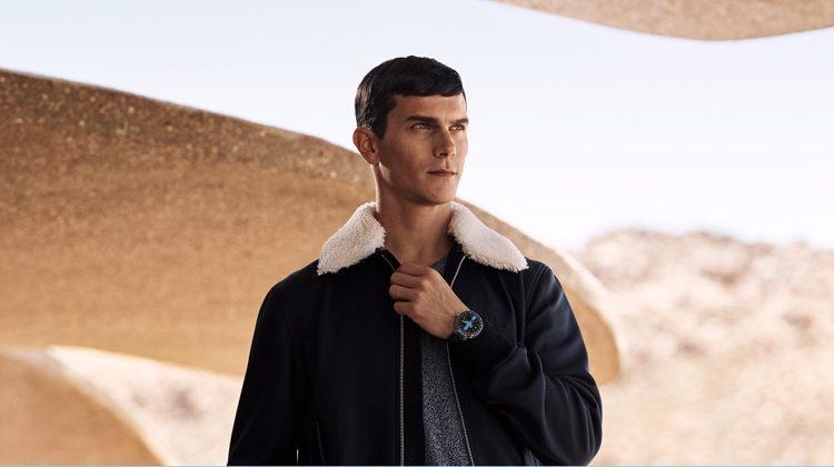 Vincent LaCrocq Stars in Louis Vuitton Tambour Horizon Campaign