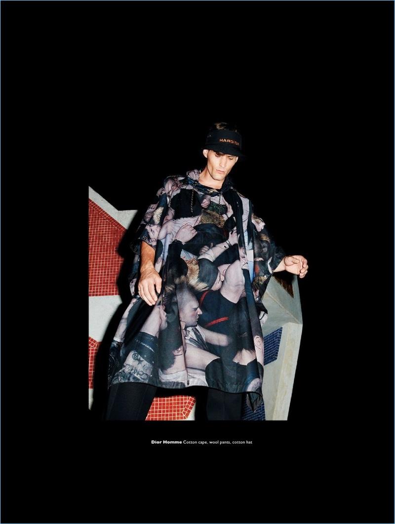 Haute in the Heartlands: March Deane Models Fall Fashions for Men's Folio
