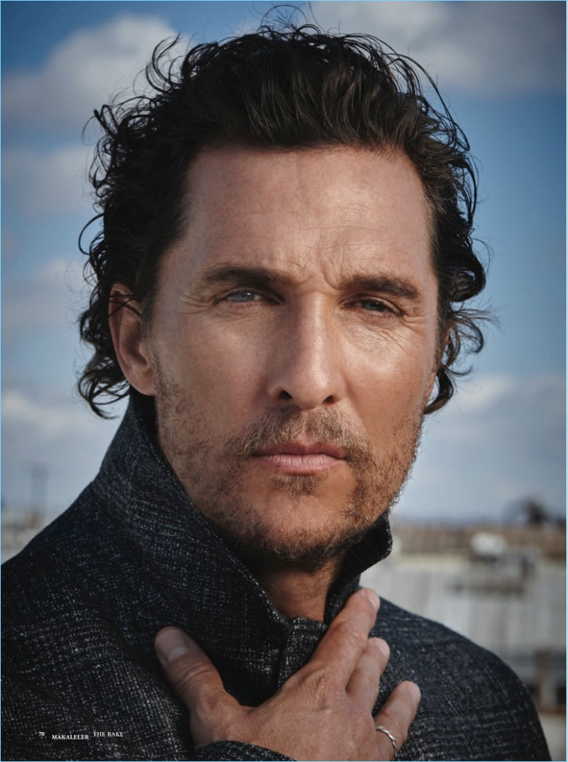 Matthew McConaughey Promotes 'The Dark Tower', Covers The ...
