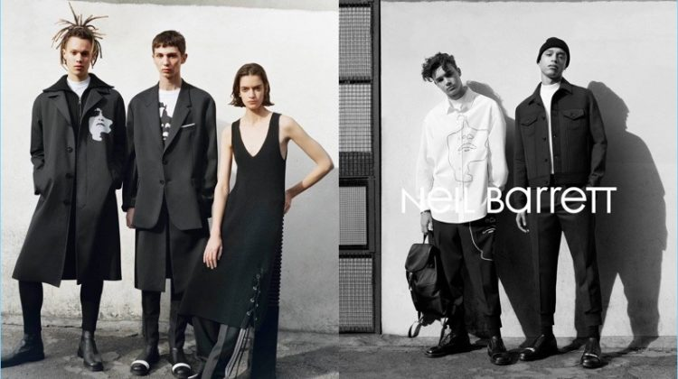 Neil Barrett Channels 80s London for Fall '17 Campaign
