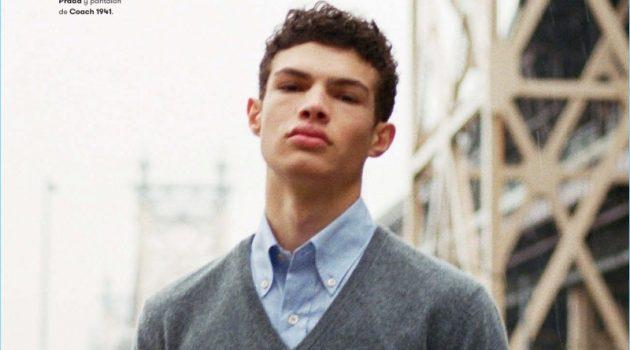 NYC: Noah Brown for L'Officiel Hommes España