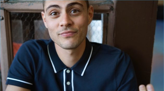 Original Penguin spotlights its signature polo shirt as worn by Micky Ayoub.