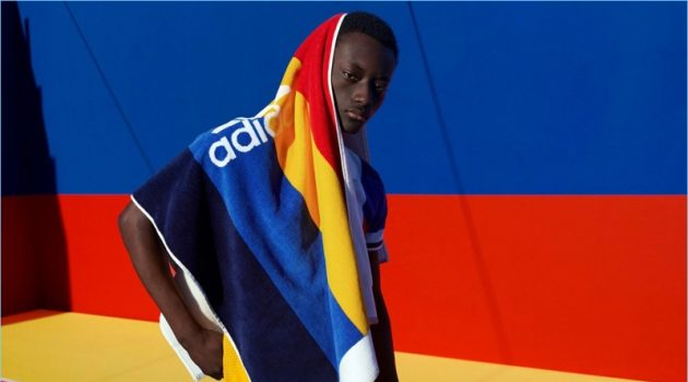 Youssouf Bamba stars in Pharrell's Adidas Originals campaign.