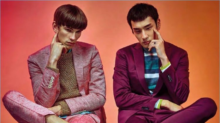 Twin Set: Prestige Indonesia Showcases Fun Colors & Prints