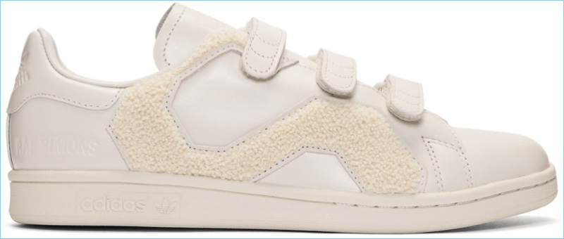 Raf Simons Off-White adidas Originals Edition Stan Smith Comfort Badge Sneakers