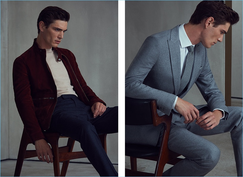 Reiss unveils smart styles to head into the fall season.