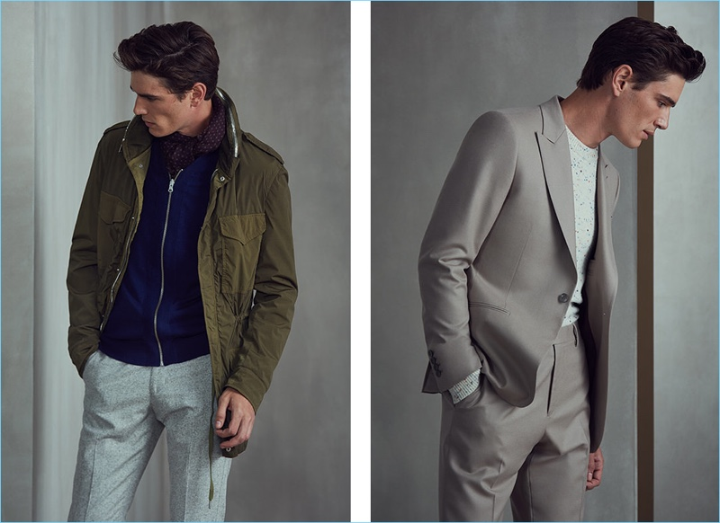 In addition to its suiting, Reiss champions everyday style with wearable separates.