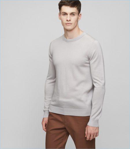 Reiss Merino Wool Sweater
