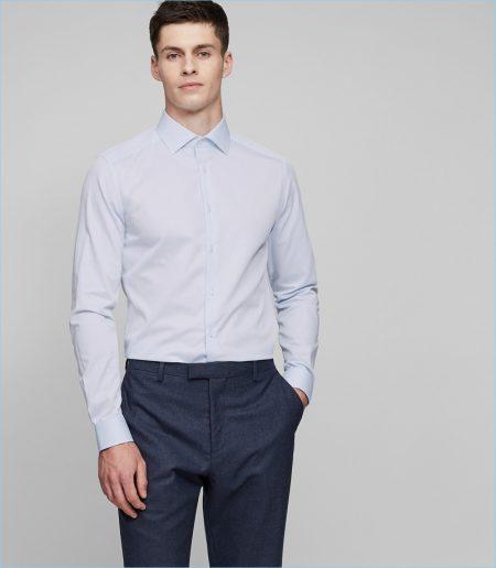 Reiss Slim Cotton Shirt