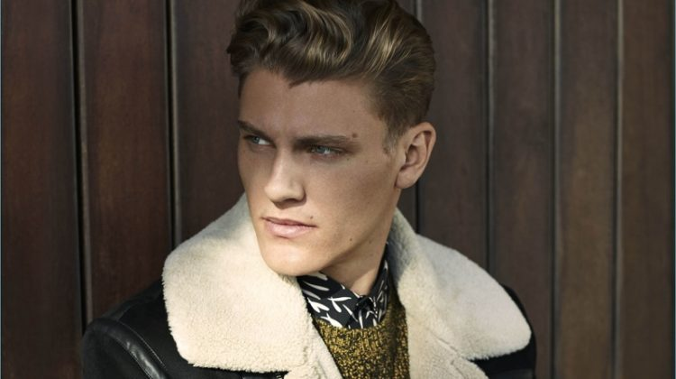 Mikkel Jensen Returns as Face of River Island's Fall '17 Campaign