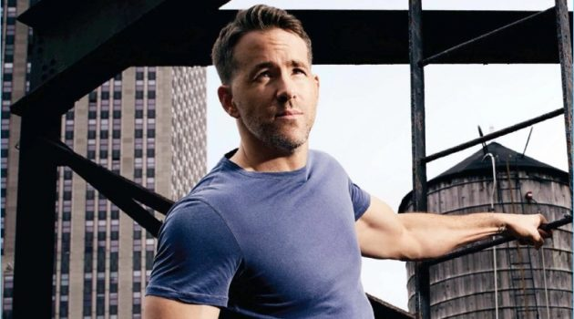 Actor Ryan Reynolds graces the pages of Men's Health UK.