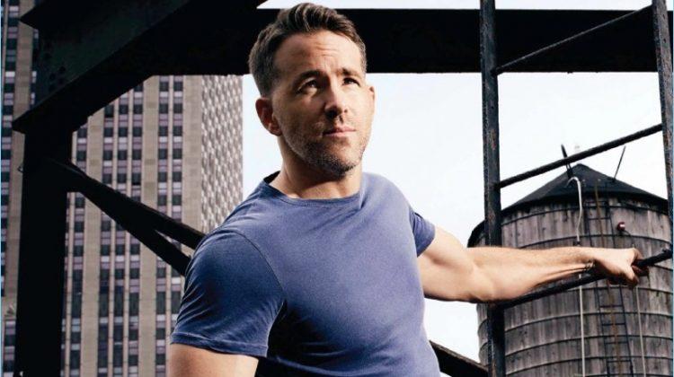 Ryan Reynolds Covers Men's Health UK September '17 Issue