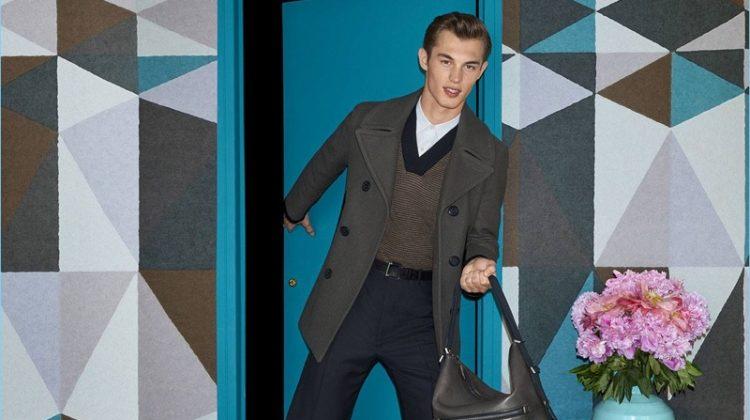 Kit Butler Stars in Salvatore Ferragamo's Fall '17 Campaign