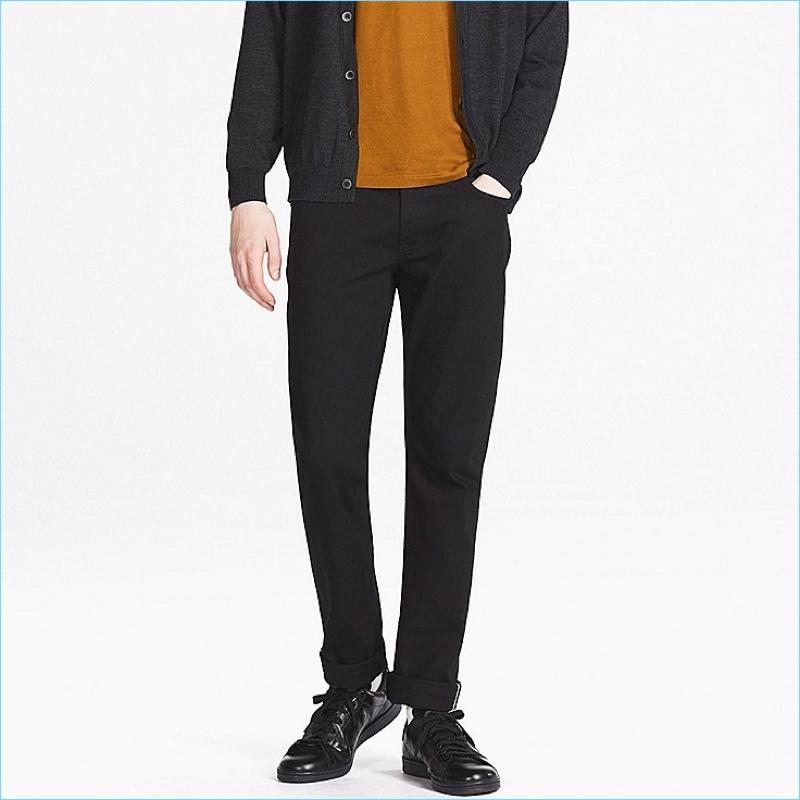 UNIQLO Men's Stretch Selvedge Slim-Fit Jeans