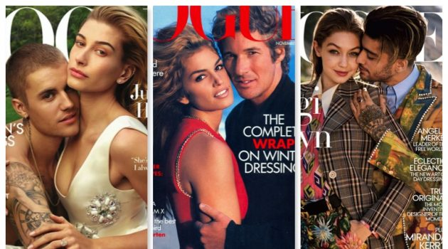 American Vogue covers featuring male stars.