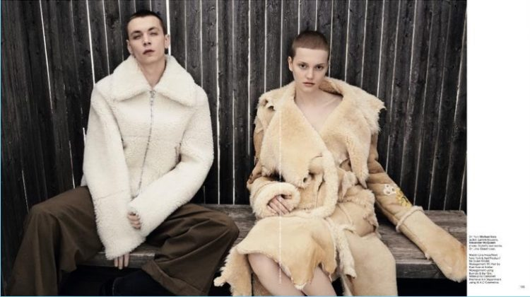 Modern Sensibility: Yuri Pleksun Couples Up with Lina Hoss for T Singapore