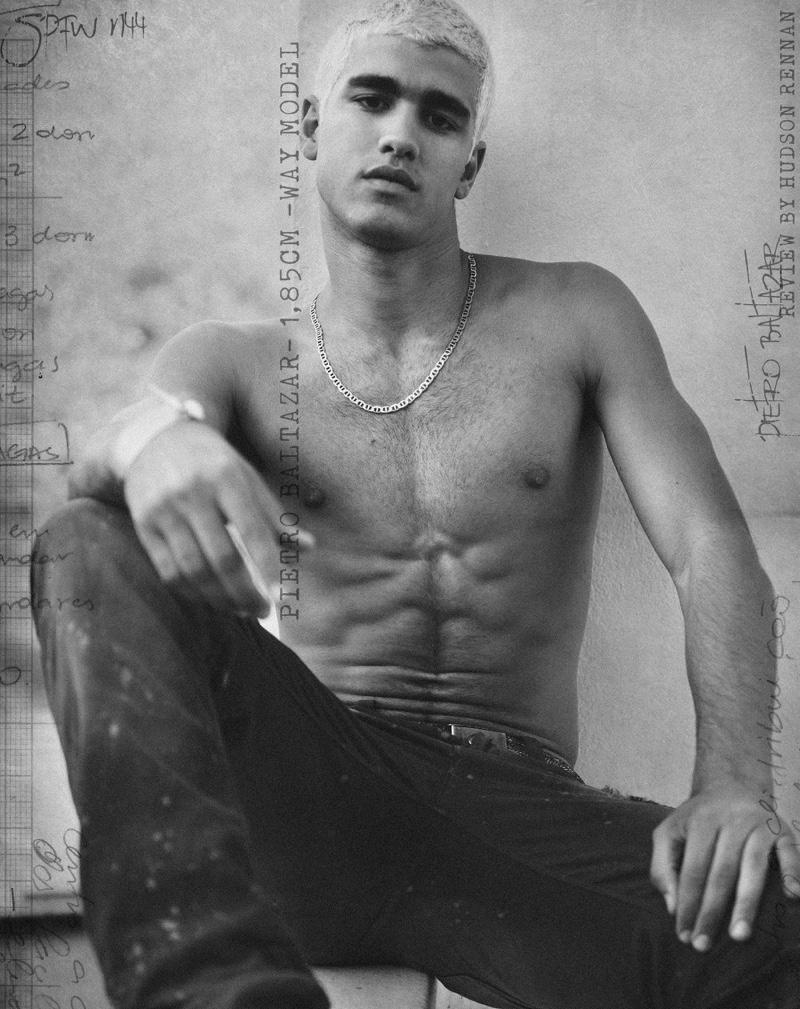 Fashionisto Exclusive: Pietro Baltazar photographed by Hudson Rennan