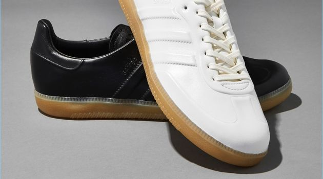 Barneys New York collaborates with Adidas for its new exclusive footwear release.