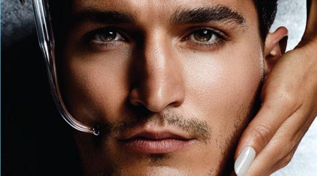 Andrew Lewandowski Stars in Grooming Story for British GQ Style